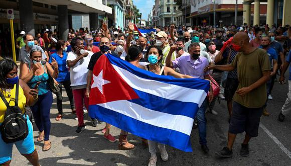 La situación de Cuba en el presente ha dado que hablar alrededor del mundo. (Foto: AFP)