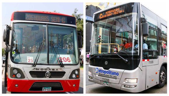 El servicio del Metropolitano y Corredores Complementarios tendrá un horario especial por el feriado del Día del Trabajo. (Foto: Archivo GEC)