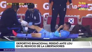 Copa Libertadores: Jean Deza sufre dura lesión