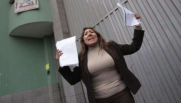 Blanca Paredes dice que fue detenida por reclamar su herencia