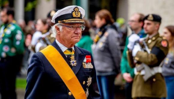 """El rey Carlos XVI Gustavo de Suecia describió 2020 como un año """"terrible"""". (Foto: Getty Images, vía BBC Mundo)."""