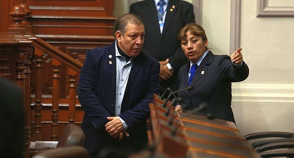 "Arana: ""Fuerza Popular y Apra ya decidieron suerte de Saavedra"""
