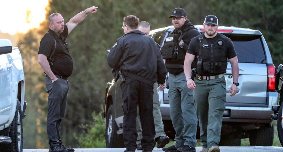 USA: one dead and three policemen injured in fierce manhunt in Georgia