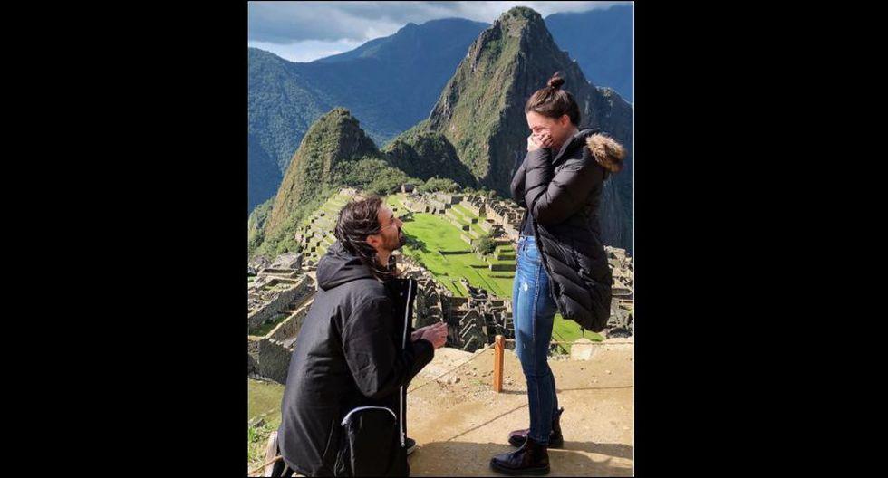 Jay Weinberg, batería de la banda Slipknot, le pidió la mano a su novia en Machu Picchu. (Foto: Instagram)