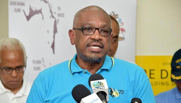 El primer minidtro de Bahamas Hubert Minnis. (AFP).