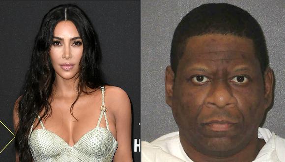Kim Kardashian dice que estaba con Rodney Reed cuando se suspendió su ejecución. (Fotos: AFP)