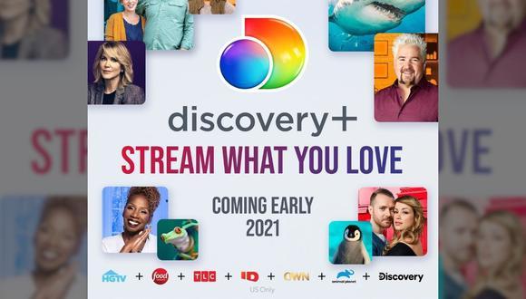 Aquí te damos la fecha de llegada del nuevos servicio de streaming de Discovery y el precio estimado. (Foto: Discovery Plus / Composición: El Comercio)