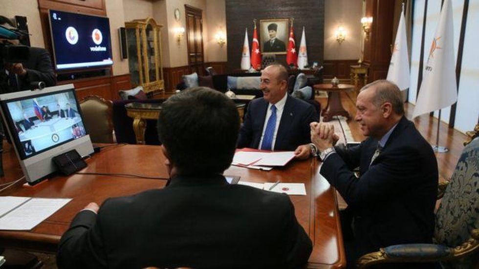 Erdogan y Maduro firmaron una serie de acuerdos en 2017 que van desde la cooperación comercial hasta la seguridad, incluyendo negocios agrícolas.