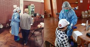 La mayoría de pacientes que atienden en el centro de urgencias de la parroquia son adultos mayores. (Foto: Parroquia Santa Rosa de Lima)