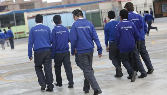 Las autoridades efectuarán un estudio en 20 instituciones educativas de los siete distritos que forman parte del Callao. (Imagen referencial/GEC)