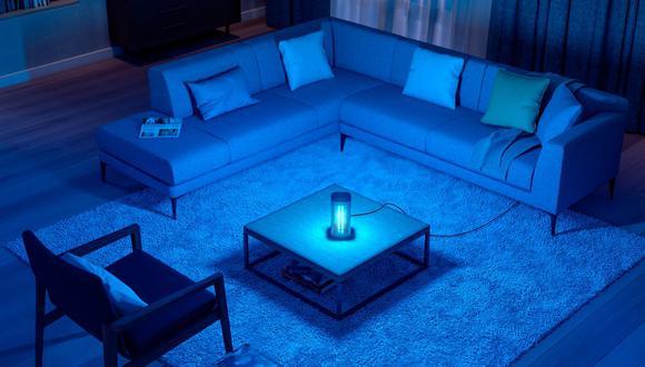La luz UV-C desinfecta ambientes de virus y bacterias en solo segundos. (Foto: Difusión)