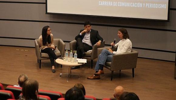 """El conversatorio """"El rol de los medios de comunicación en la lucha anticorrupción"""" se hizo a propósito del día internacional del combate contra este problema."""