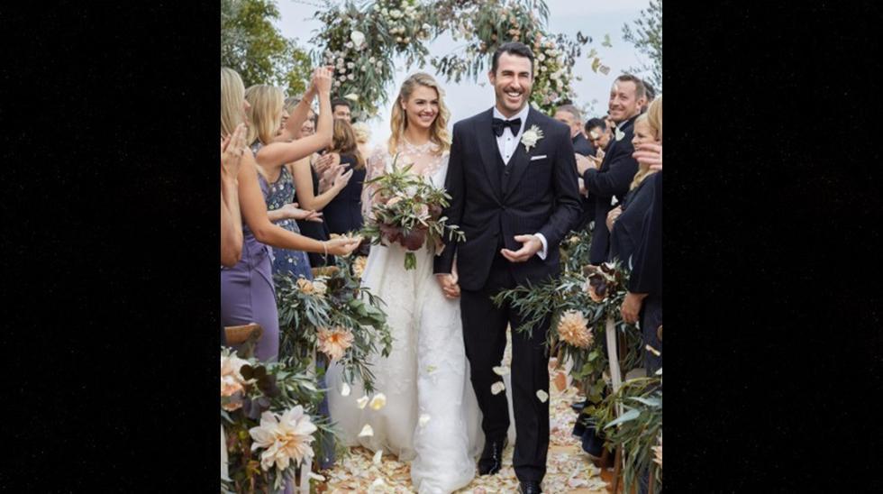 Así fue la boda de Kate Upton y el beisbolista Justin Verlander