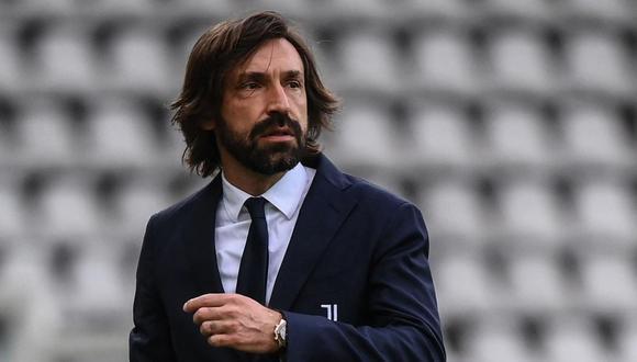 """Andrea Pirlo no piensa renunciar a Juventus tras goleada del Milan: """"Seguiré hasta que se me permita"""". (Foto: AFP)"""