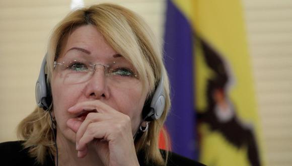 Luisa Ortega, fiscal general destituida. (Reuters)