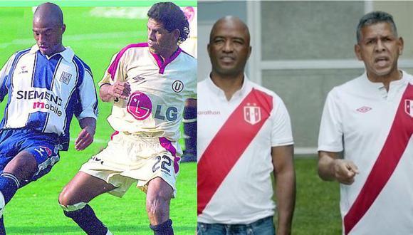 Waldir Sáenz y el 'Puma' Carranza se enfrentaron en más de una oportunidad en los clásicos del fútbol peruano.