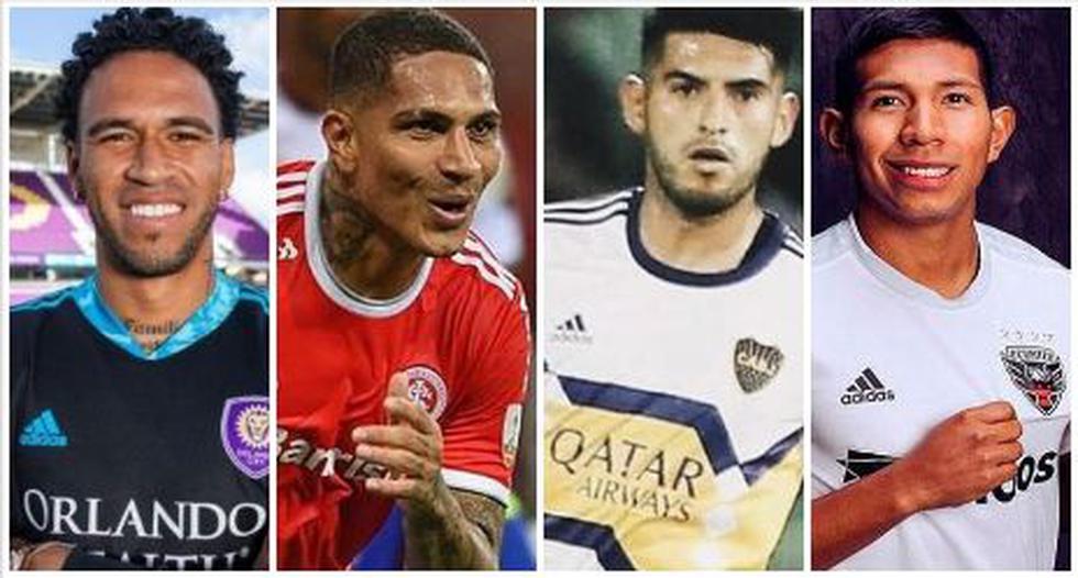 Los dos equipos que se armarían con los futbolistas peruanos en el extranjero. (Foto: AFP)