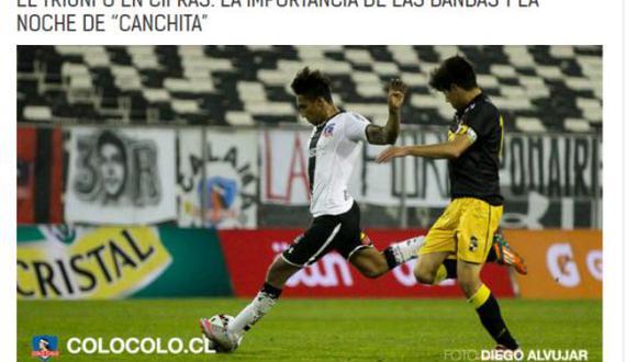 """Colo Colo: """"Christofer Gonzales jugó un partido brillante"""""""