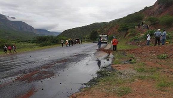 Jaén: derrame de petróleo ocurrió por conexión clandestina
