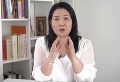 """Keiko Fujimori promete """"terminar de vacunar a todos los peruanos antes de fin de año"""" con apoyo del sector privado"""