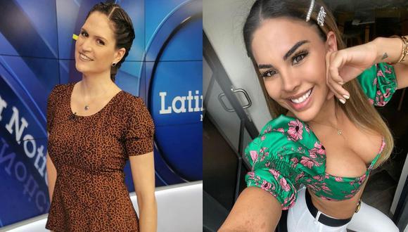 Lorena Álvarez se solidariza con Stephanie Valenzuela tras ser agredida por Eleazar Gómez. (Foto: @lorealvareza/@tefivalenzuela)