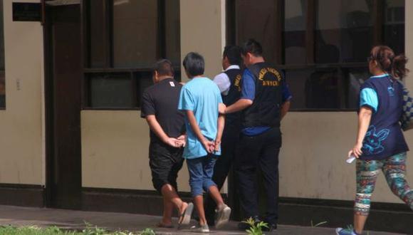 Trujillo: detienen a presuntos extorsionadores de 13 y 15 años