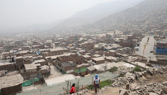 Huaycán, que hoy pertenece a Ate, cerca de convertirse en distrito. (Rolly Reyna)