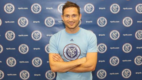 Frank Lampard será compañero de David Villa en el New York City