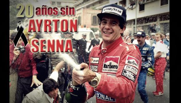 Ayrton Senna: el mundo lloró hace 20 años al piloto brasileño