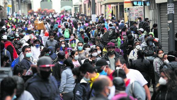 La cifra de contagiados por coronavirus tuvo un nuevo incremento este sábado. (Foto: GEC)
