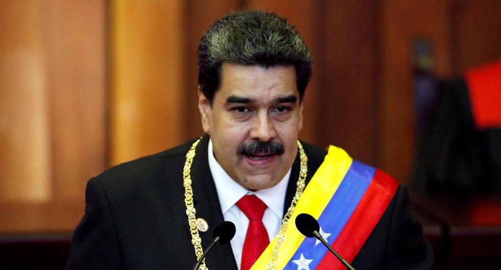 """Nicolás Maduro juró ante el Tribunal Supremo de Justicia de Venezuela para un segundo mandato hasta el 2025. Dice que su país es víctima de """"una guerra mundial"""" (Reuters)."""