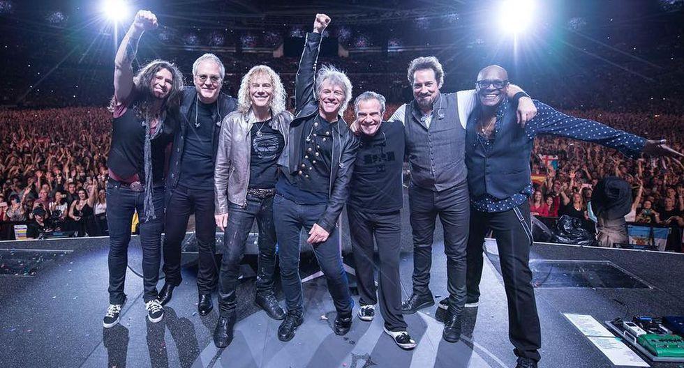 Bon Jovi regresó a Lima luego de nueve años para un concierto en el Estadio Nacional. La capital fue la última ciudad de su gira This House Is Not for Sale. (Foto: @bonjovi)