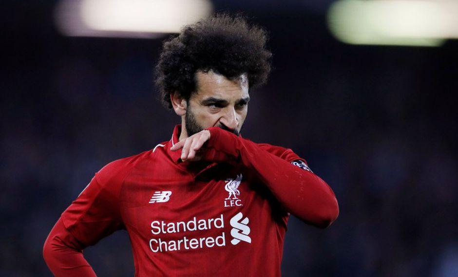 Mohamed Salah cursa la segunda temporada vistiendo la camiseta de Liverpool. (Foto: Reuters)
