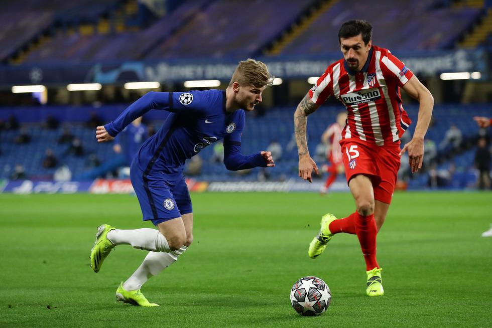 Atlético de Madrid enfrentó al Chelsea por la Champions League