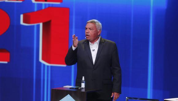 El candidato del PPC criticó, además, a George Forsyth, por afirmar que es un candidato nuevo, pero postular con un partido antiguo, como el de Humberto Lay. (Foto: El Comercio)