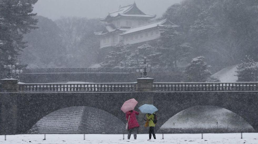 Tokio atraviesa su peor tormenta de nieve en 13 años - 1