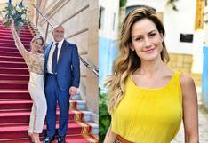 Altaír Jarabo le responde a quienes la critican por casarse con un hombre millonario y mayor que ella