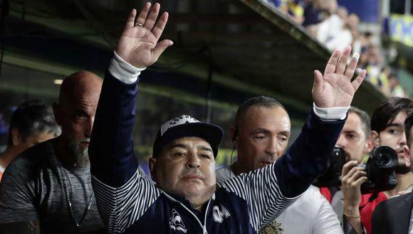 ¿Cómo protegen a Diego Maradona del coronavirus? | Foto: AFP