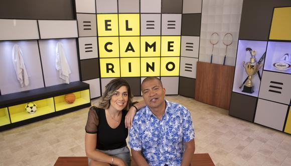 """Luciana Roy y Daniel Marquina son los conductores del programa """"El Camerino""""."""