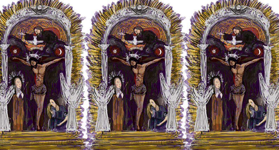 Somos, ante el Señor de los Milagros, niños con diferentes percepciones, formando parte de un hermoso dibujo cuya sola existencia ya es un hermoso milagro. (Ilustración: Giovanni Tazza)