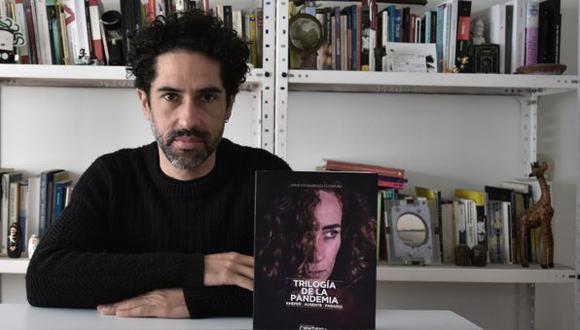 """Ernesto Barraza Eléspuru, autor de la """"Trilogía de la Pandemia"""". Foto: Difusión"""