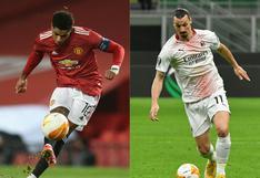 Manchester United vs. Milan la llave más atractiva: conoce los emparejamientos de octavos de final de Europa League