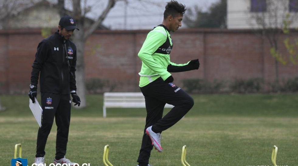 Christofer Gonzales: su primer entrenamiento en Colo Colo - 10