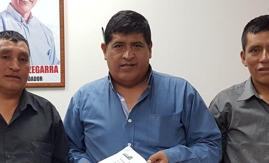 El congresista por Huancavelica Reymundo Lapa Inga es parte de la bancada del Frente Amplio. (Facebook)