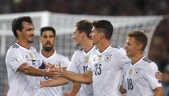Alemania exhibió un fútbol maravilloso ante una debil Noruega que apenas atacó una vez durante los 90 minutos. La figura fue Timo Werner, quien anotó un doblete. (Foto: AFP)