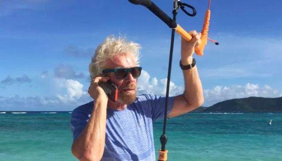 Richard Branson, fundador de las compañías del grupo Virgin. (Foto: Facebook/Richard Branson)