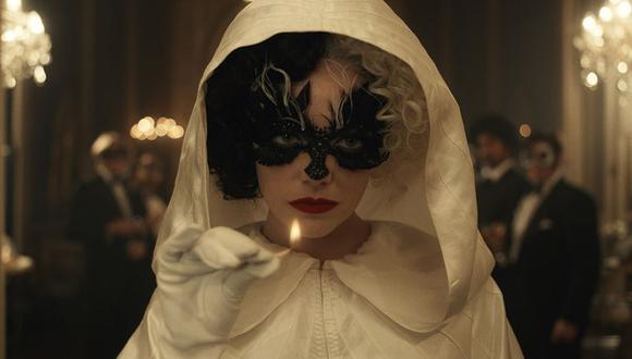 """La actriz Emma Stone, ganadora del premio Oscar, protagoniza la nueva película de Disney """"Cruella"""". (Foto: Disney)"""