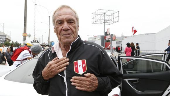 Enrique Casaretto; ocho goles en diez partidos con la selección peruana. Héroe de la Copa América de 1975. (Foto: GEC)