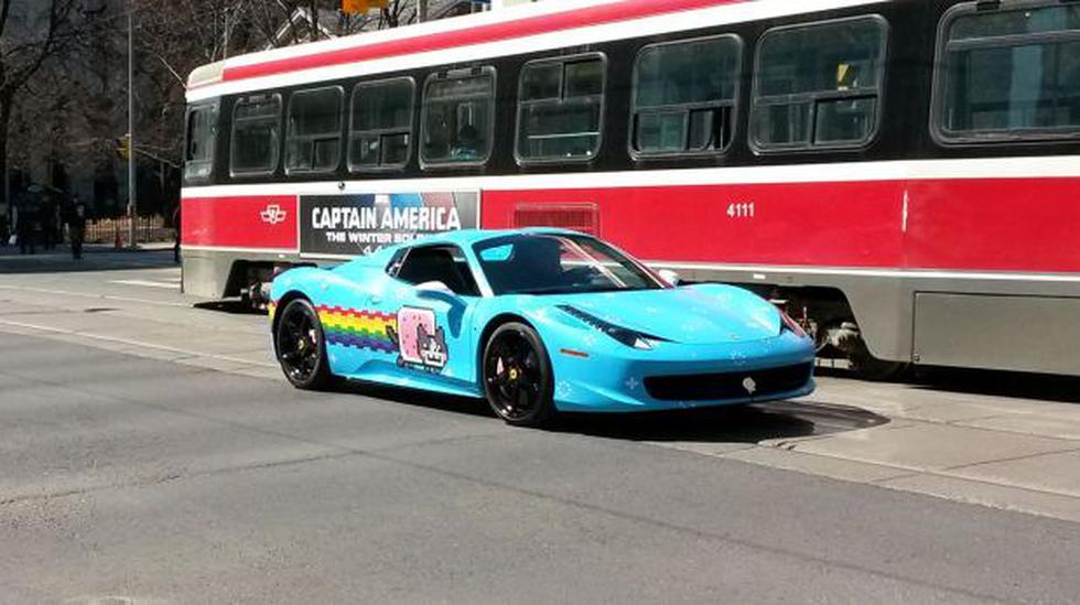 Ferrari se molesta con Deadmau5 por su auto - 1