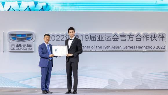 """La compañía asiática utilizará el slogan """"Disfrute de la movilidad eléctrica en los juegos asiáticos con Geely"""". (Fotos: Geely)."""